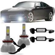 Kit Super Led 6000k Lampada Super Branca Tipo Xenon
