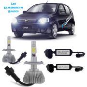 Lampada Led P/ Farol Alto+baixo Corsa Hatch - Sedan Tp Xenon