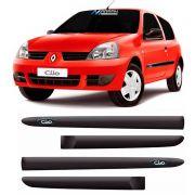 Jogo Friso Personalizado Lateral Renault Clio Hatch 2 Portas