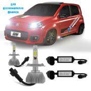 Kit Lampada Led 6K P/ Farol Alto+Baixo Uno Evolution - tipo Xenon
