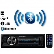 Radio Carro FM MP3 Player Automotivo USB SD AUX Bluetooth