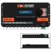 Crossover Expert Eletronics PX-2 6 Canais Processador Áudio Digital 28 Frequências Equalização