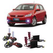 Kit Xenon HB4 8000K Para Farol Milha Gol G5 2008 a 2012 Voyage G5 2008 a 2012 Saveiro G5 2010 a 2013