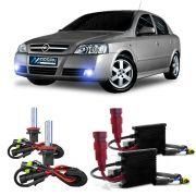Kit Xenon H3 8000K Para Farol Milha Astra Sedan 1999 a 2012 Astra Hatch 2003 a 2012