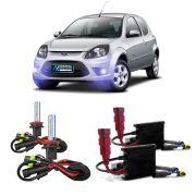 Kit Xenon H11 8000K Para Farol Milha Ford KA 2011 a 2013