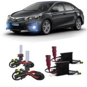 Kit Xenon H11 8000K Para Farol Milha Corolla 2014 a 2015