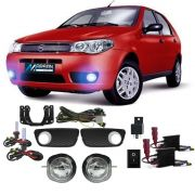 Kit Farol de Milha + Xenon 8000K Palio Fire Celebration 2004 a 2012 Siena Fire Celebration 2004 a 2012