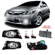 Kit Farol de Milha New Civic 2009 2010 2011