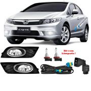 Kit Farol de Milha New Civic 2012 2013 2014