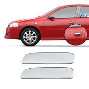 Aplique Cromado Maçaneta Externa Astra Hatch 1999 a 2012 (2 Portas)
