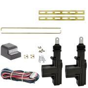 Kit Trava Eletrica Universal 2 Portas Dupla Serventia