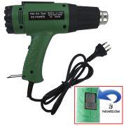 Soprador Térmico Pistola Ar Quente Com Controle Velocidade - 220V