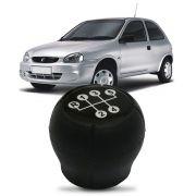 Bola Cambio Corsa Hatch Sedan 98 99 2000 Preta Lente Preta