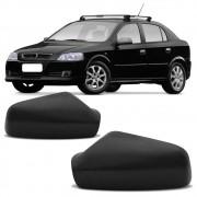 Capa Preta para Espelho Retrovisor Astra Hatch Sedan 1999 a 2012