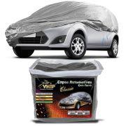 Capa Protetora Fiesta Hatch com Forro 100% Impermeavel para Cobrir Carro