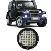 Farol Auxiliar Milha Troller Jeep Pick-Up 32 Led 96w Redondo