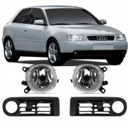 Grade + Farol Milha Audi A3 2001 2002 2003 2004 2005 2006