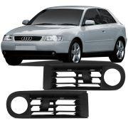 Par Grade Moldura do Farol Milha Audi A3 2001 2002 2003 2004 2005 2006