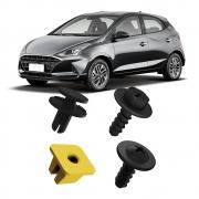 Kit Fixação Grampo Presilha Parafuso Para-choque Dianteiro HB20 Hatch e Sedan 2020 2021