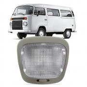 Lanterna Luz de Teto Central Sem Temporizador Kombi 1999 a 2014 Gol Parati Saveiro G2 G3 G4 1996 a 2014