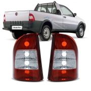Lanterna Traseira Bicolar Strada G3 2005 2006 2007 2008 2009