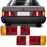 Lanterna Traseira Carcaça Preta Escort 1987 a 1992 Hobby 1993 a 1996