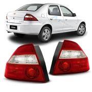 Lanterna Traseira Bicolor Cristal Prisma 2006 2007 2008 2009 2010 2011 2012