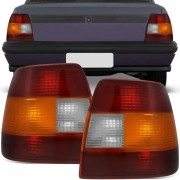 Lanterna Traseira Tricolor Carcaça Preta Monza 1991 a 1996