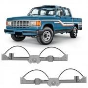 Maquina Vidro Elétrica Dianteira A20 Bonanza C20 D20 Veraneio 4 Portas 1991 a 1996