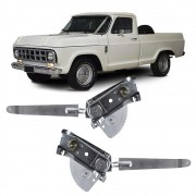 Maquina Vidro Manual Dianteira C-10 1972 a 1985 D-10 1979 a 1985 D-60 1971 a 1985 Veraneio 1971 a 1985
