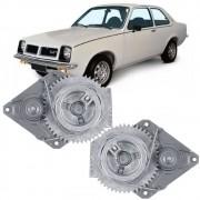Maquina Vidro Manual Dianteira Chevette 1973 a 1982 Marajó 1980 a 1982 2 Portas