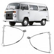Maquina Vidro Manual Dianteira Kombi Carat 2008 a 2013