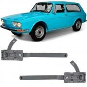 Maquina Vidro Manual Dianteira Variant 1970 a 1977 2 Portas