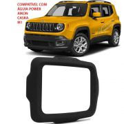 Moldura Multimidia DVD 2Din Jeep Renegade Pcd Mod Original