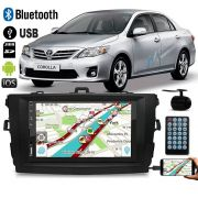 Multimidia MP5 Corolla C/ Espelhamento IOS Android + Moldura