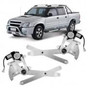 Par Maquina Vidro Elétrica Dianteira S10 Blazer 2/4 Portas 1995 a 2011