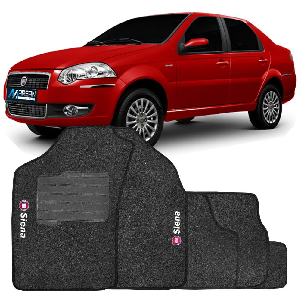 Tapete Carpete Grafite (Bordado Logo e Modelo) Siena 2005 a 2013