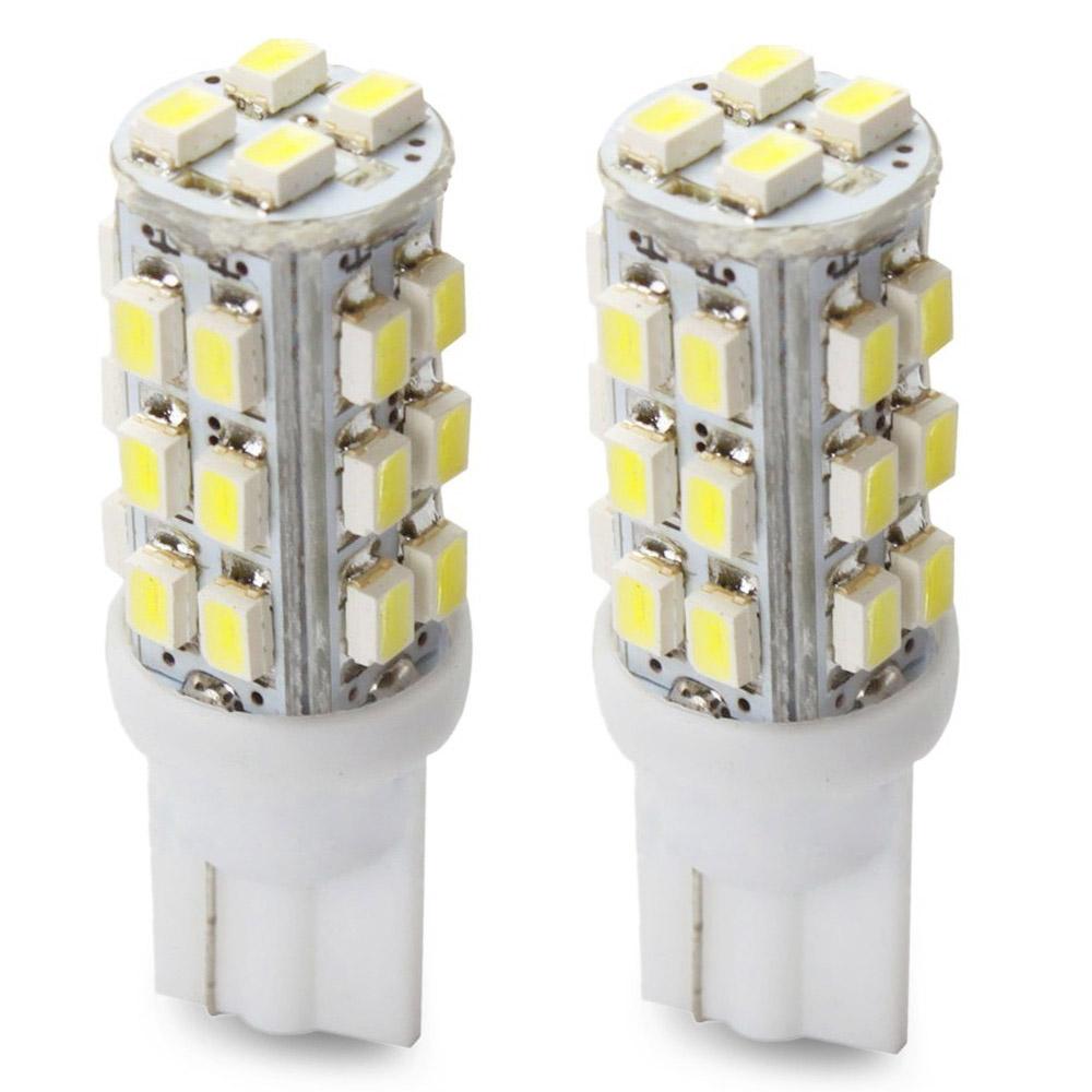 Lampada Pingo T10 28 Leds 12V Super Branca - (Par)