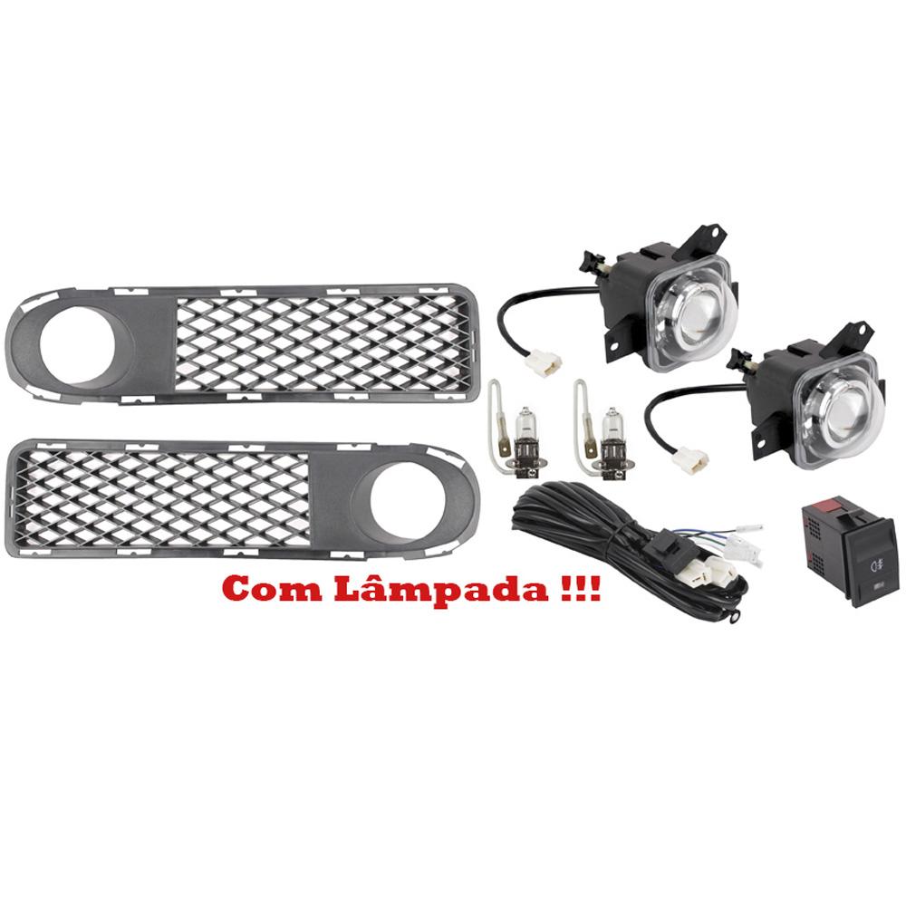 Kit Farol de Milha Gol G3 2000 a 2002 Parati G3 2000 a 2002 Saveiro G3 2000 a 2002 - Fase 1