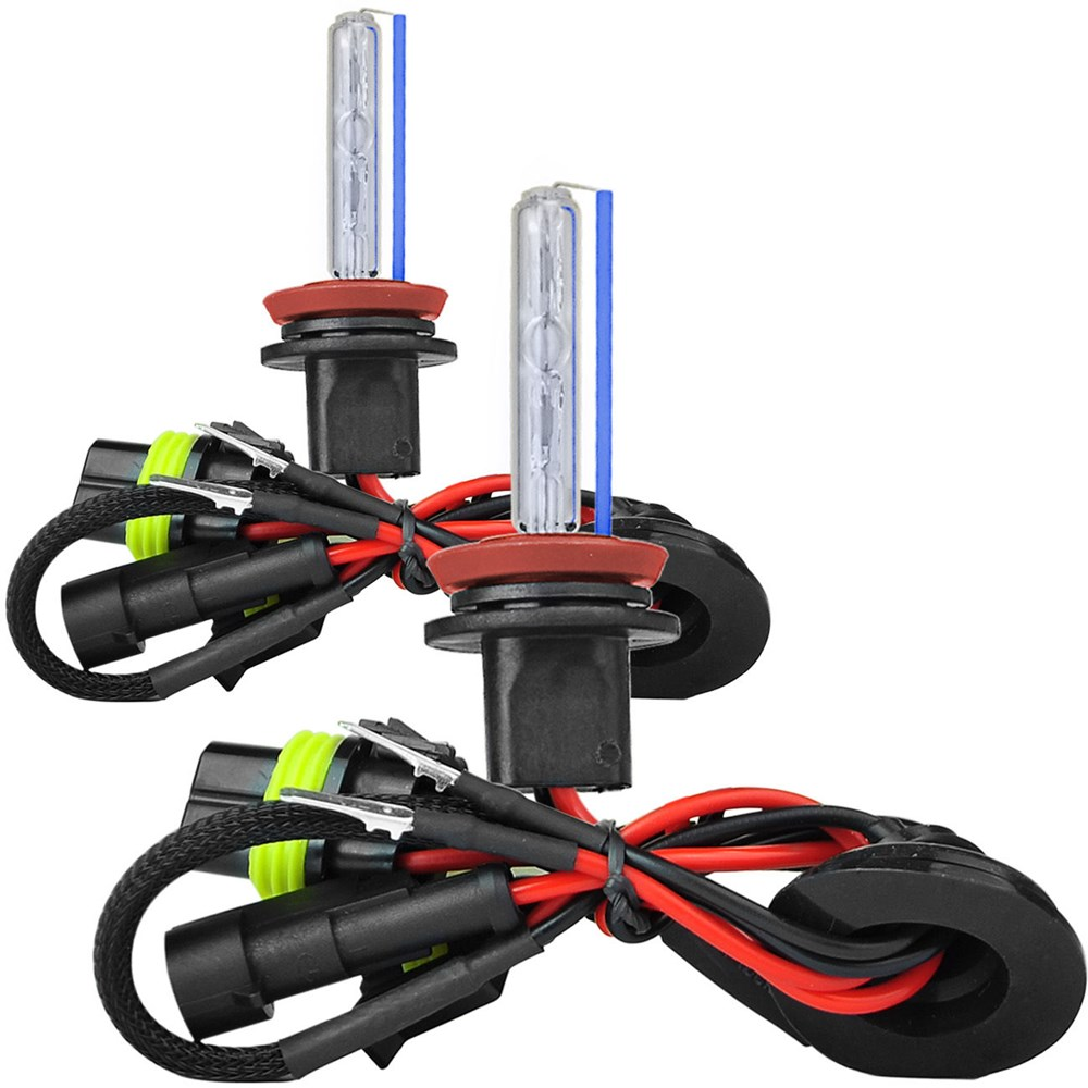 Kit Xenon Lampada 8000K Para Farol Baixo e Farol Milha Civic 2007 a 2011