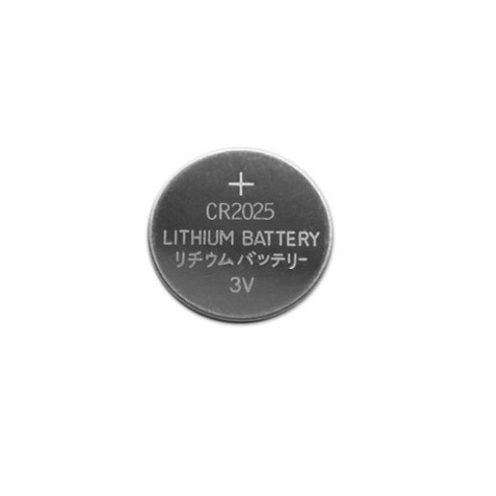 Bateria Lithium CR2025 3V Blister com 5 Unidades - Para Controles Remoto Portões e Alarmes