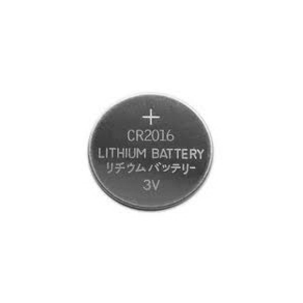Bateria Lithium CR2016 3V Blister com 5 Unidades - Para Controles Remoto Portões e Alarmes