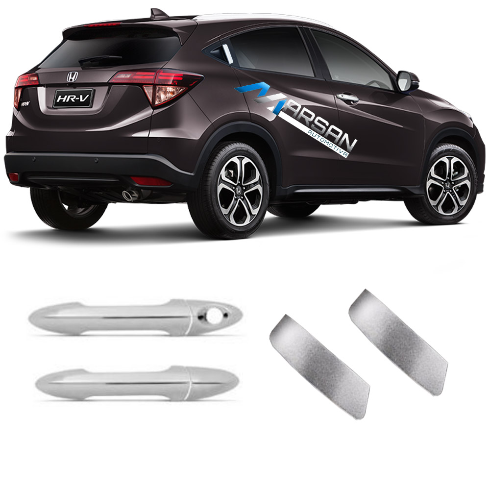 Aplique Cromado Maçaneta Externa Honda HR-V 2015 2016