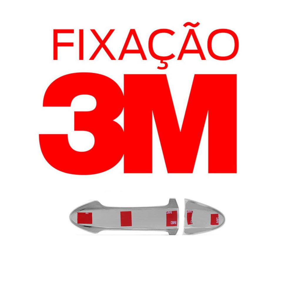 Aplique Cromado Maçaneta Externa Honda Fit 2015 2016