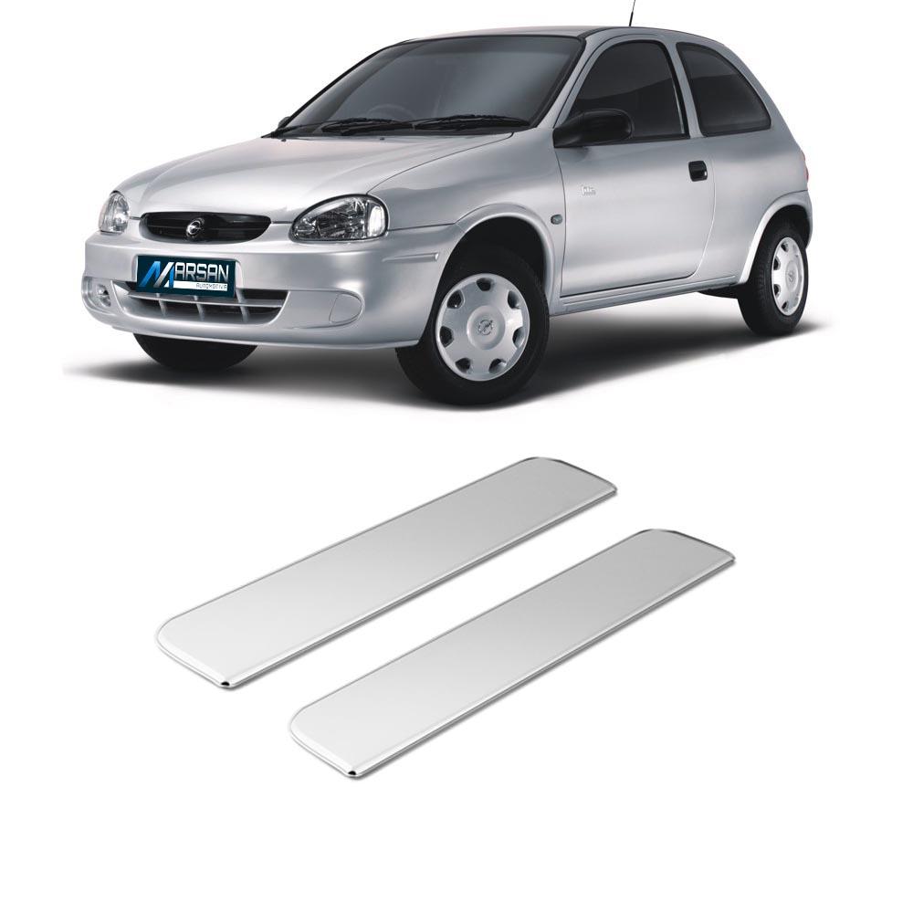 Aplique Cromado Maçaneta Externa Corsa Hatch 1994 a 2002 Corsa Sedan 1994 a 2002 Vectra 1994 a 1996 Astra 1994 a 1998 Omega 1993 a 1998 (2 Portas)