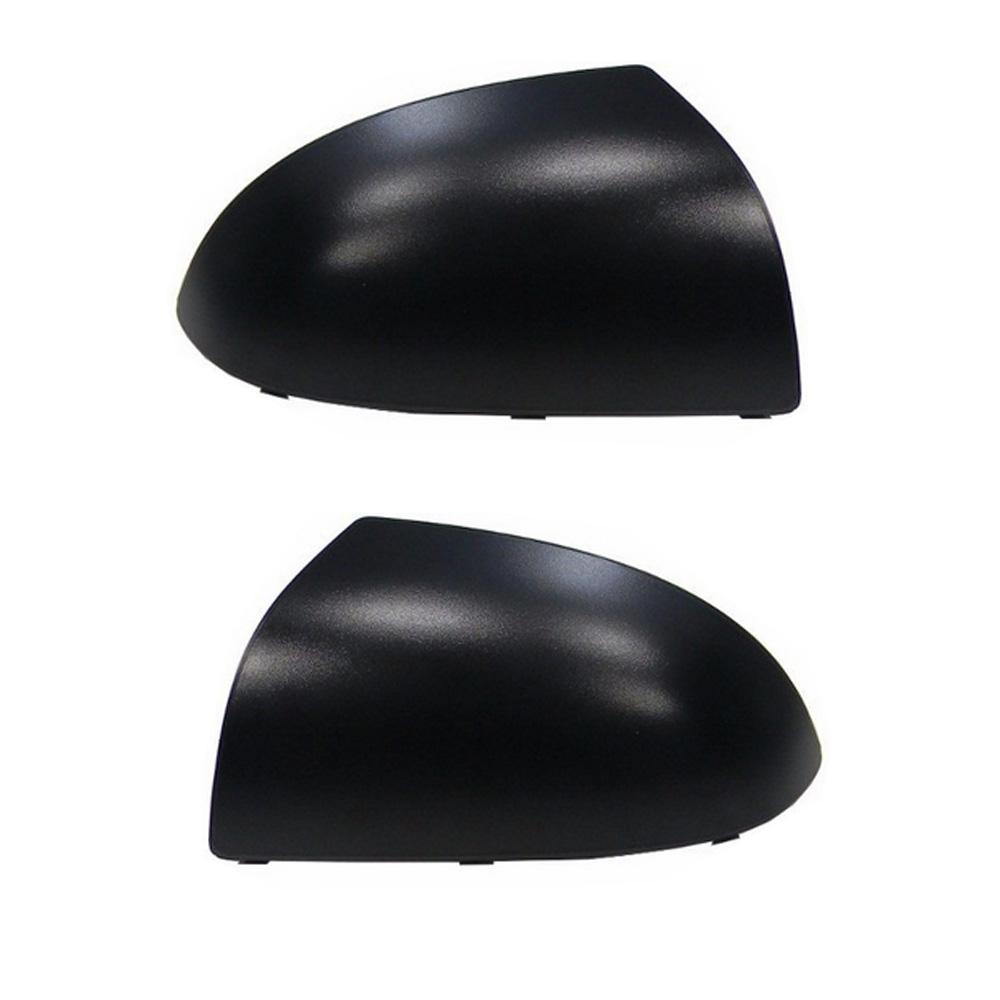 Capa Preta para Espelho Retrovisor Fiesta 2002 a 2014 Ka 2008 a 2014