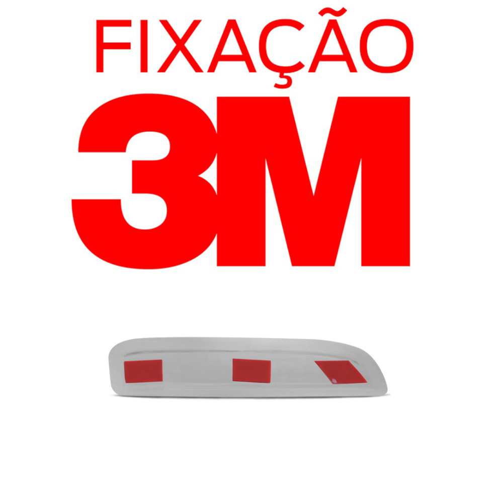 Aplique Cromado Maçaneta Externa Astra Hatch 1999 a 2012 Astra Sedan 1999 a 2012 Zafira 2001 a 2012 (4 Portas)