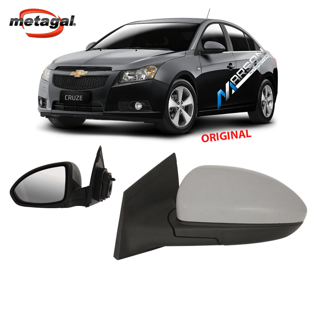 Retrovisor Cruze Hatch - Sedan 2012 a 2016 Eletrico