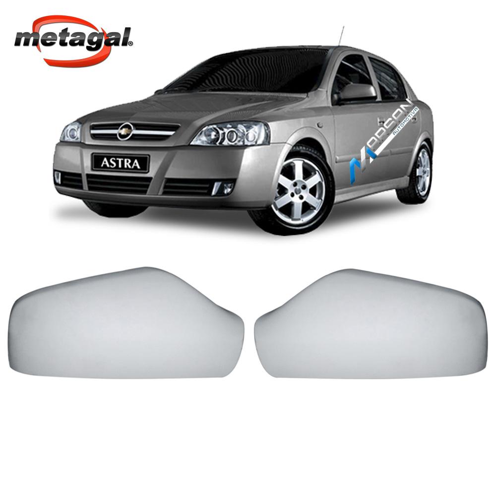 Capa Lisa para Pintura Retrovisor Astra Hatch Sedan 1999 a 2012
