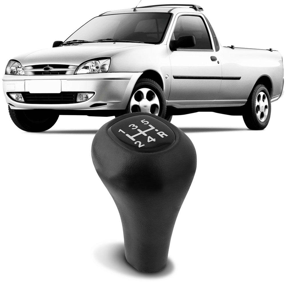 Bola Câmbio Preta Ka 1997 a 2001 Courier 1996 a 2013 Fiesta Hatch 1997 a 2007 Fiesta Sedan 2001 a 2007